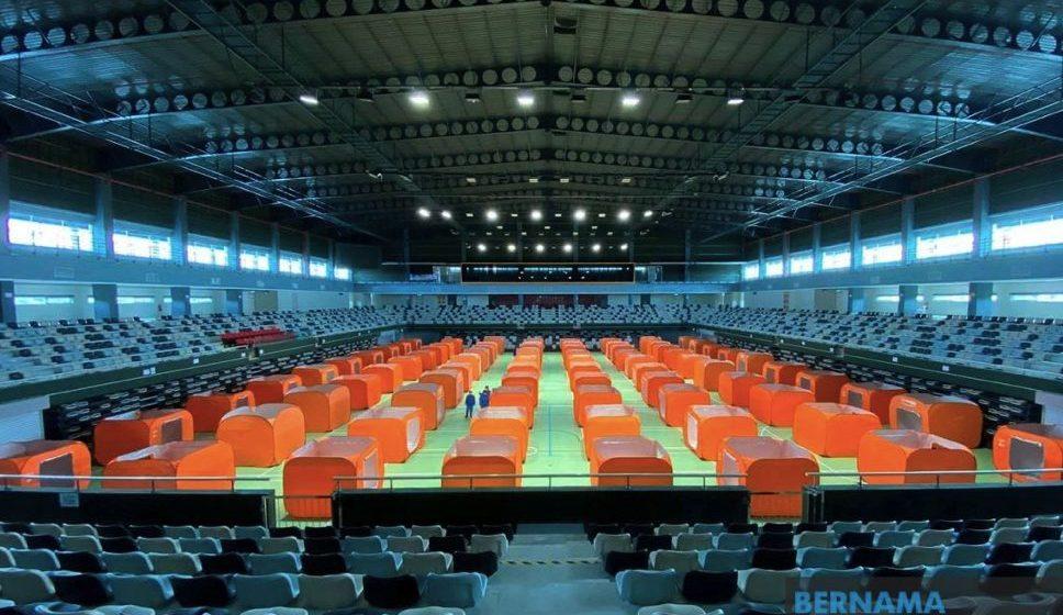 Stadium Tertutup Sibu akan dijadikan pusat kuarantin COVID-19 – Dr Annuar