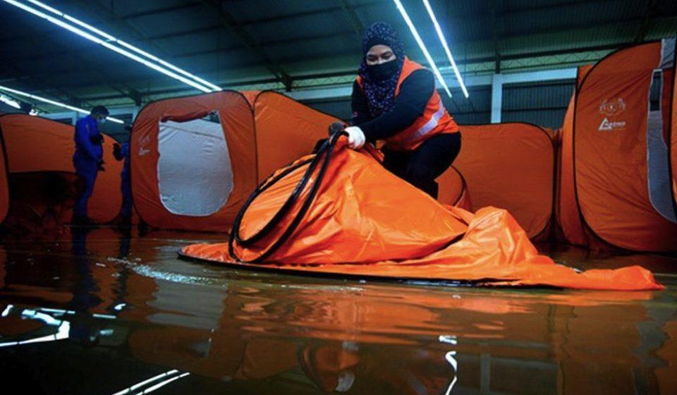 Mangsa banjir di Sarawak menurun
