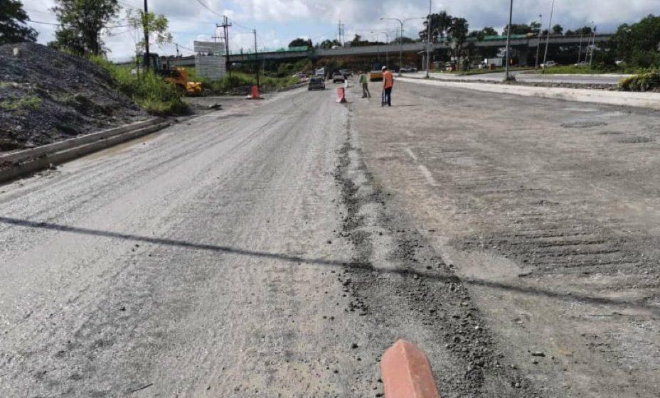 Jalan berlubang di Bintulu sebenarnya dibaik pulih