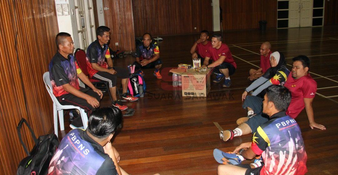Badminton Para Sukma S'wak fokus kecergasan
