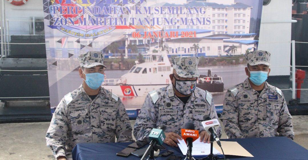 Maritim Sarawak menahan 71 vesel tahun lepas