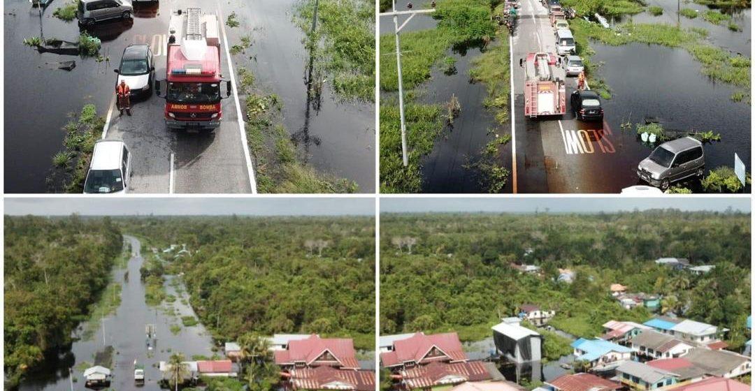 Matu-Daro dilanda banjir