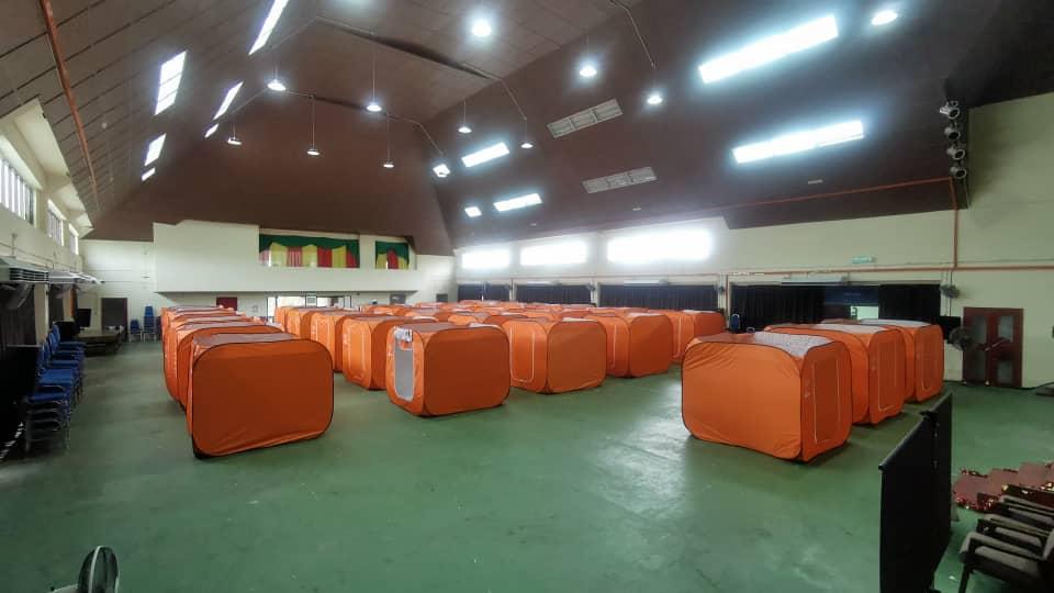 JKM Mukah siap sedia penempatan sementara mangsa banjir