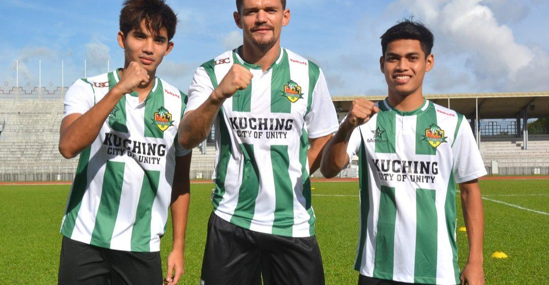 Janji tiga bintang baharu Kuching City