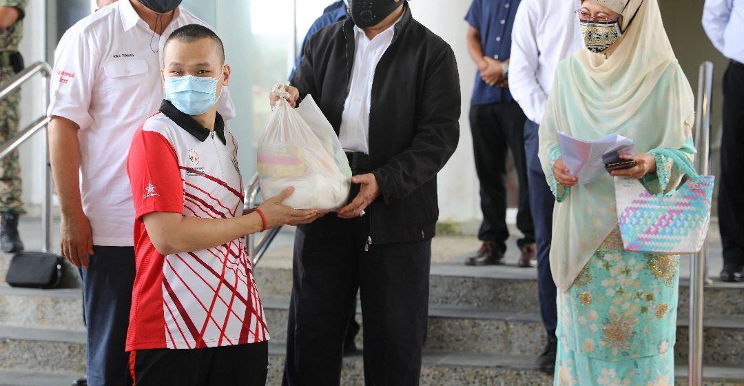 Bantu pemakai RM5.1 juta diagih di Sibu