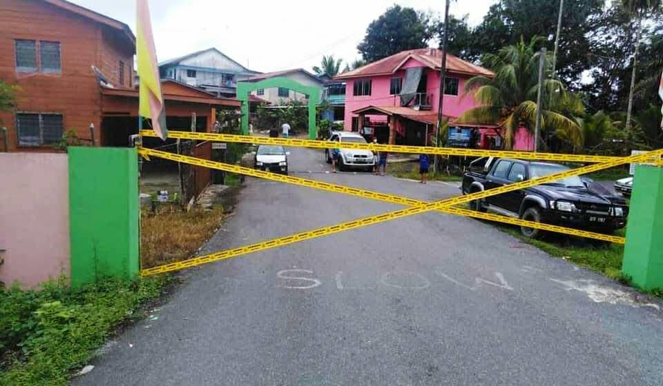73 pintu Rh Sebastian Ngalang Sibu dikunci serta-merta