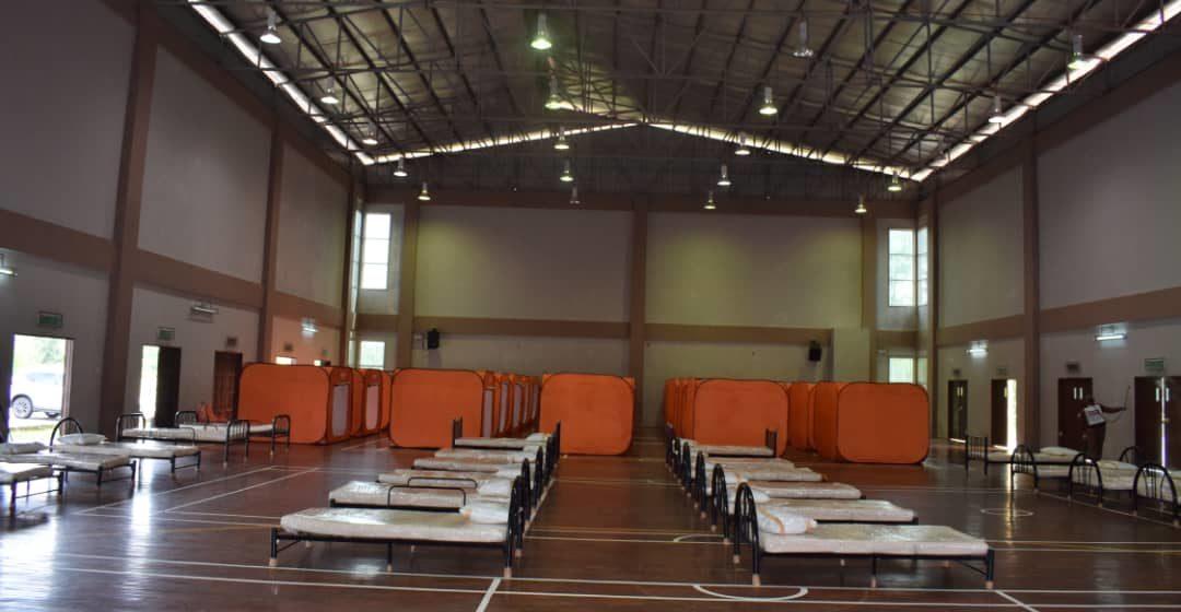 Dewan Sukan Kem Belia Mukah digazetkan sebagai Pusat Kuarantin, PKRC