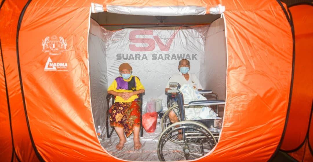 646 mangsa ditempatkan di 10 PPS Kuching, Serian dan Miri