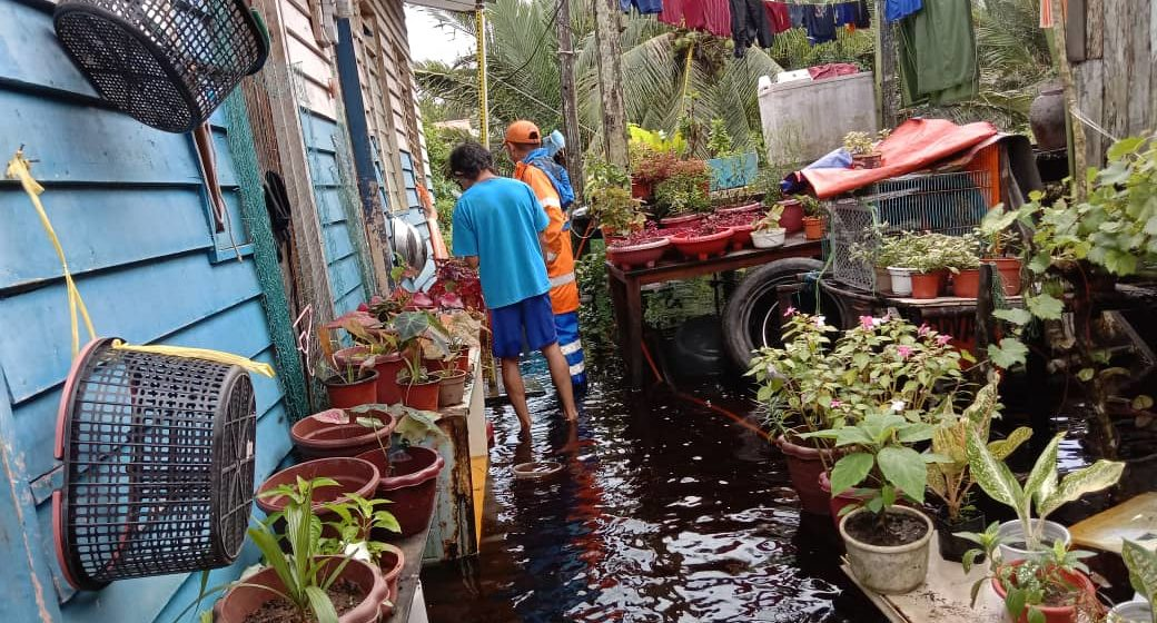 Tiga kawasan di Matu terjejas banjir setakat 3 petang tadi