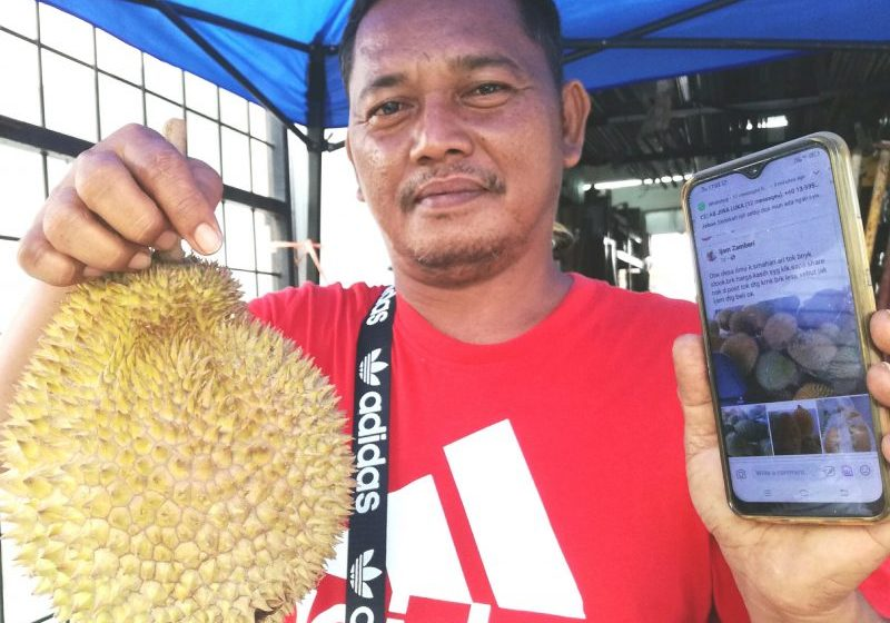 100 biji durian laris dalam 120 minit