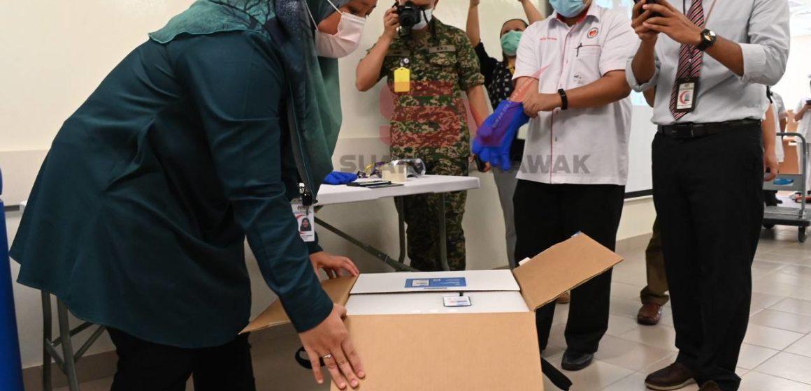 Program latihan percubaan hantar vaksin ke Kapit lancar