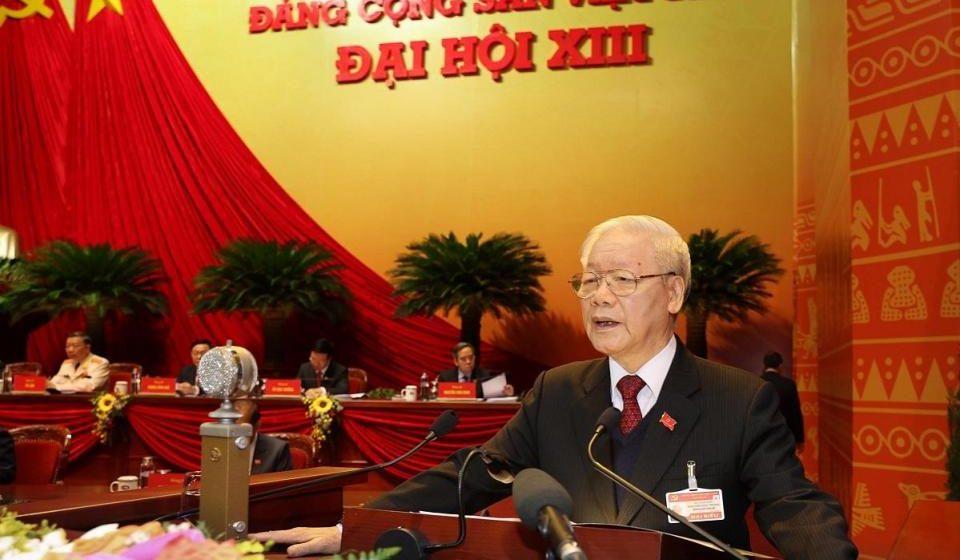 Trong mengetuai Parti Komunis di Vietnam