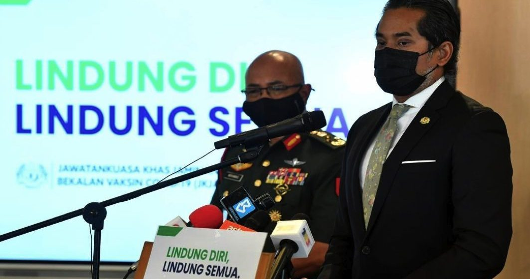PM Muhyiddin penerima pertama vaksin – Khairy