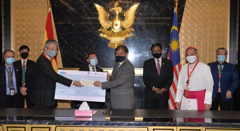 RM2.5 juta kena ngaga blok baru SMK St Joseph