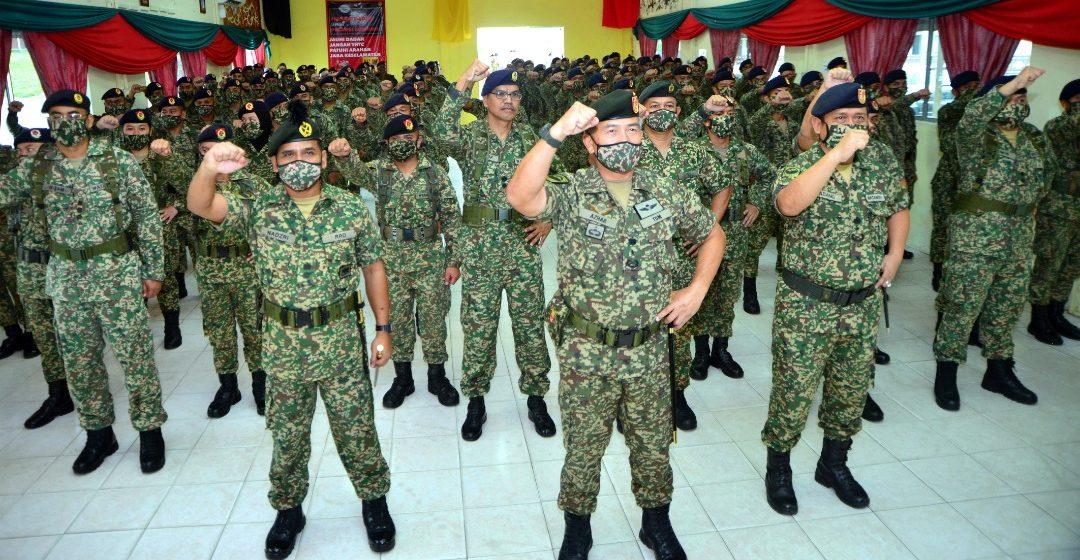 126 askar wataniah digerakkan ke Sibu