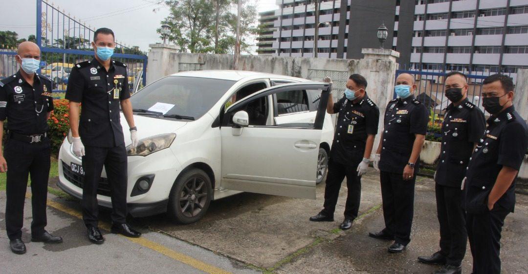 Suspek utama pecah kereta taman riadah dicekup, pembeli barang curi turut ditahan