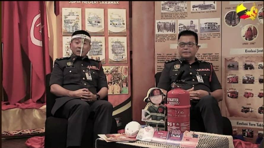 Bomba Sarawak guna pendekatan dalam talian sebar maklumat keselamatan