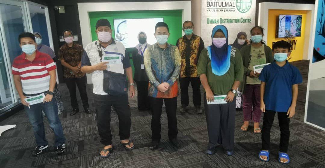 TBS sumbang bantuan berjumlah RM5,190 kepada lima penerima