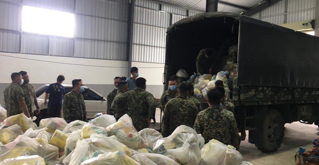 Tentera Darat bantu penguatkuasaan PKPD di Sibu Jaya