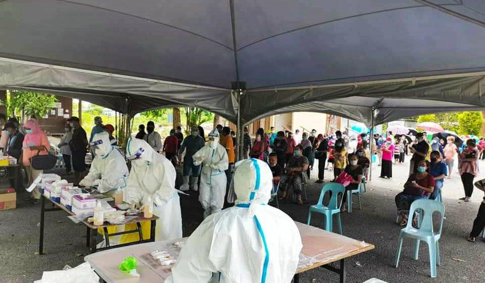 Pengesanan secara aktif di Sibu berjalan lancar