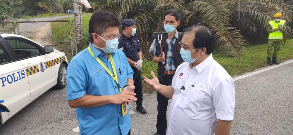 Hadirin upacara pengebumian di Kampung Emperoh Jambu perlu tampil jalani ujian saringan Covid-19