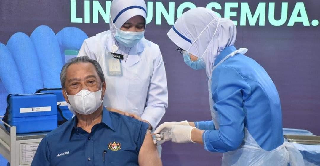 Nadai asai pedis betuchuk vaksin – Muhyiddin