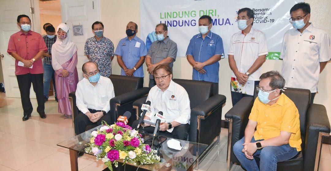 RM30 juta agih dikena ngemujur pengawa nganjung vaksin ke menua pesisir