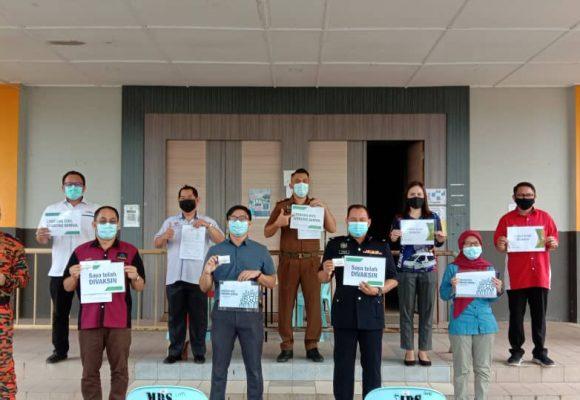 Program meri vaksin di Saratok mujur