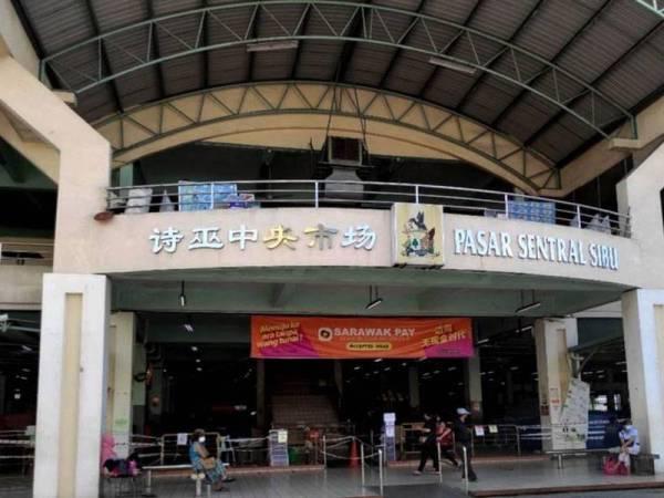 Pasar Sentral Sibu beroperasi semula esok