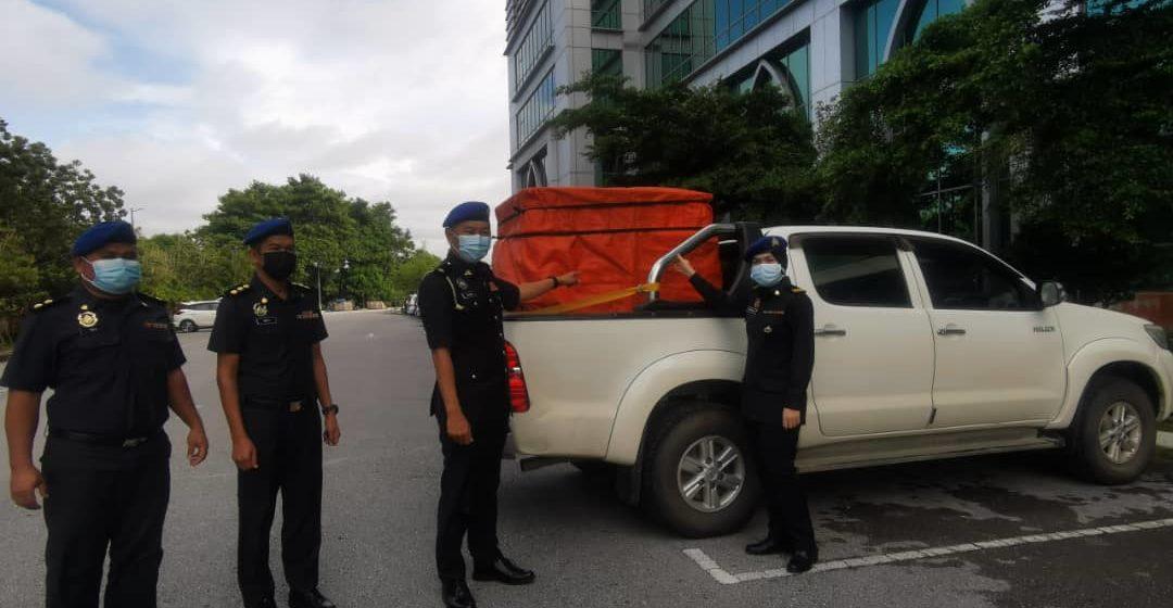 Ditangkap isi 800 liter diesel tanpa permit