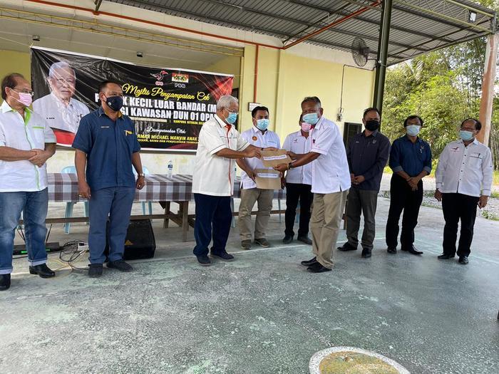 Sejumlah 97 geran projek MRP bernilai RM1.2j untuk Dun Opar
