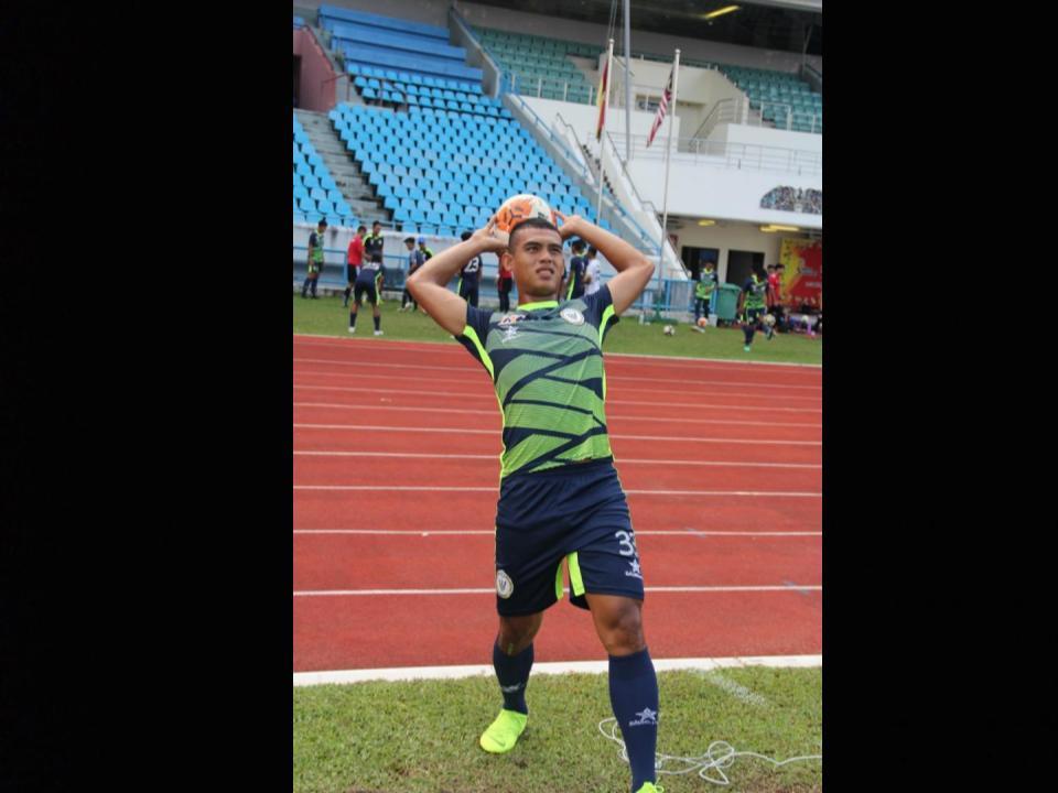 Gibson Billy sandaran Sarawak United FC II