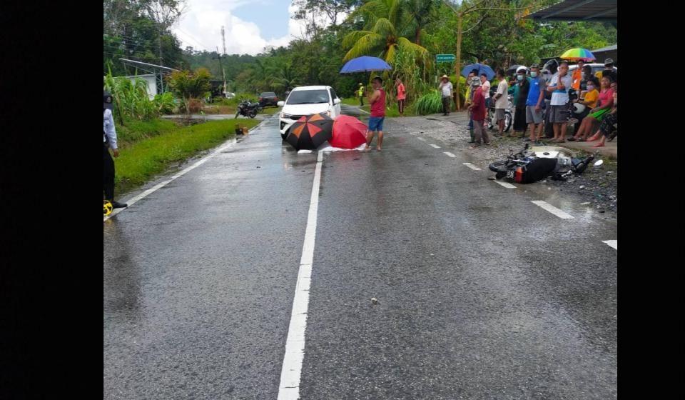 Warga emas maut kemalangan di Kilometer 13 Jalan Bau-Matang