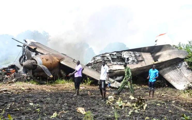10 maut pesawat terhempas di Sudan