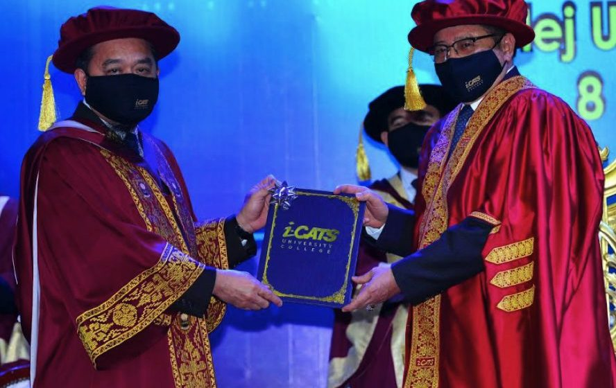Abang Johari dilantik Cancelor Kolej Universiti i-Cats