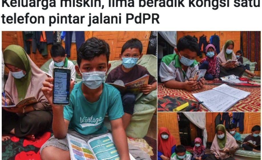 Subsidi telefon pintar untuk keluarga B40 dinaikkan