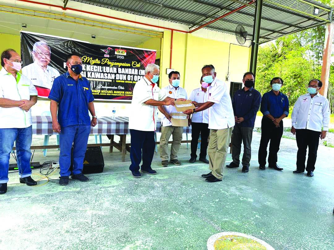 Dun Opar nerima geran MRP sepenyampau RM1.2 juta