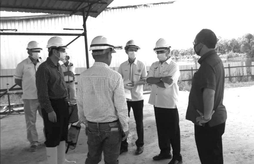 Rundi ngabas Projek Rayat di Dun Kemena
