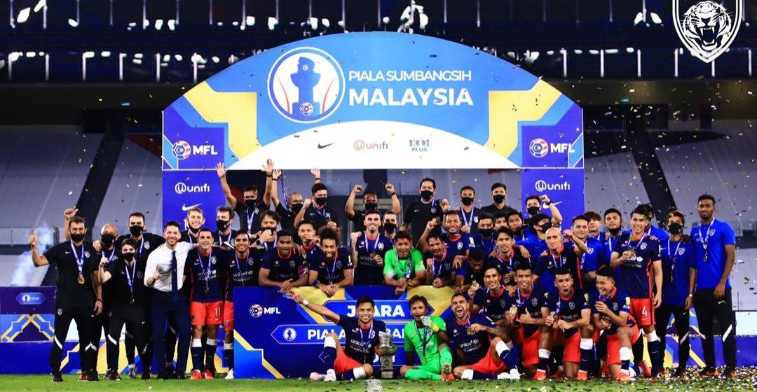 JDT julang Piala Sumbangsih empat tahun berturut-turut