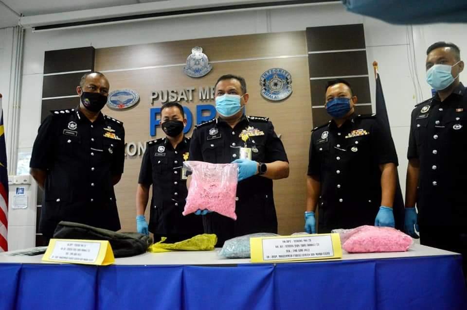 Sepasang kekasih ditahan bawa 14,880 biji pil khayal