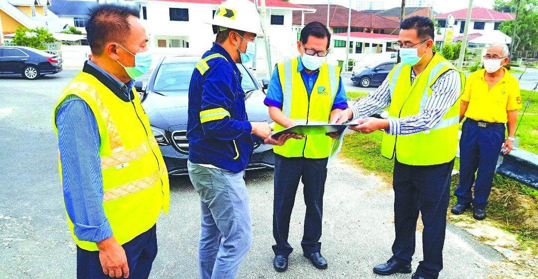 Simpang Jalai Tanjung Taman Bumiko diatu lebih likun