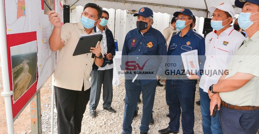 Projek SPK Sadong Jaya tembu 91 peratus