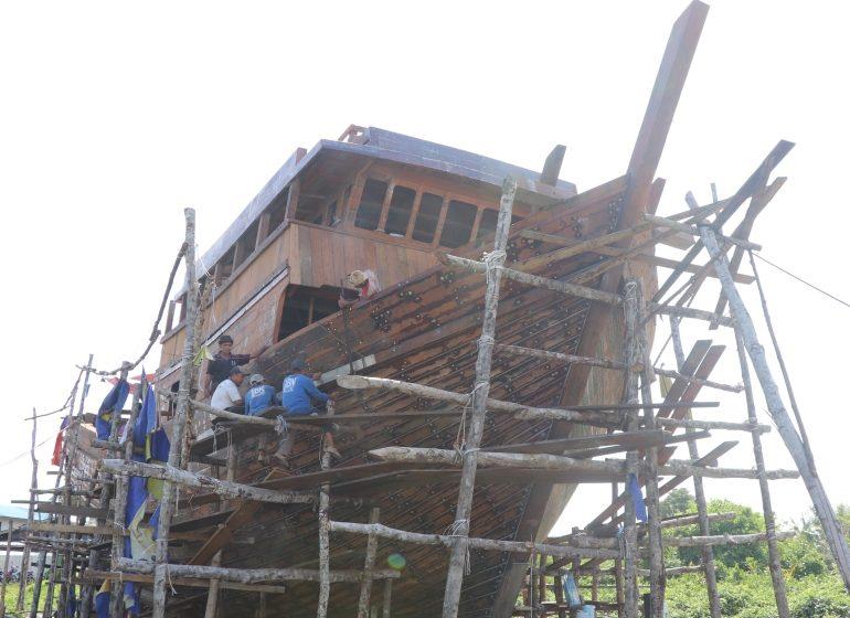 Beladin: Pusat pembinaan kapal tradisi