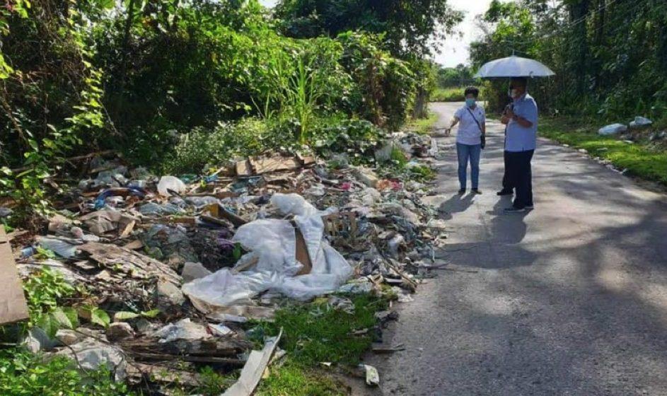 Teropong pembuang sampah secara haram