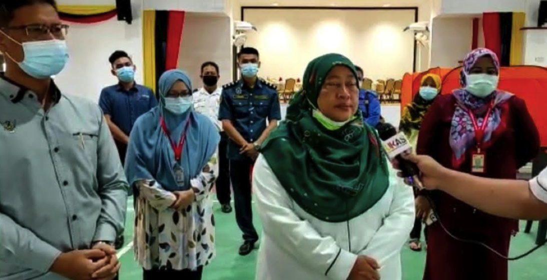 Program imunisasi: 70,000 sudah mendaftar di Mukah