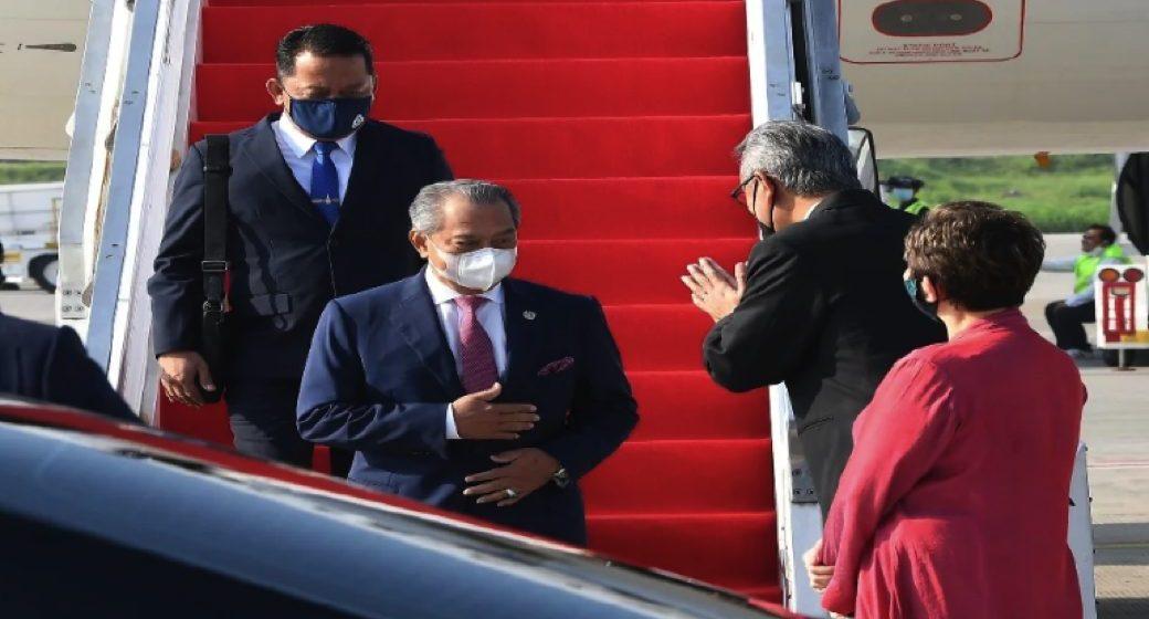Muhyiddin tiba di Jakarta untuk hadiri mesyuarat khas ASEAN