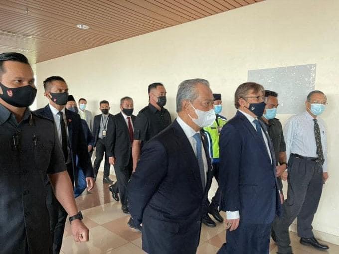 Terkini: YAB PM tiba di Kuching pagi ini
