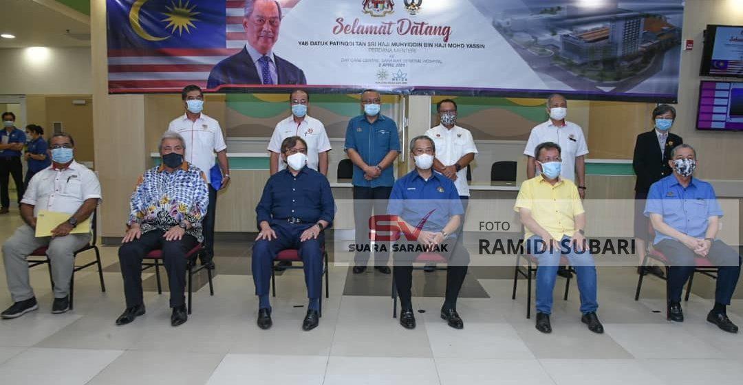 Pemutus ngeletak chalun Bersatu di Sarawak diserah ngagai Kepala Menteri