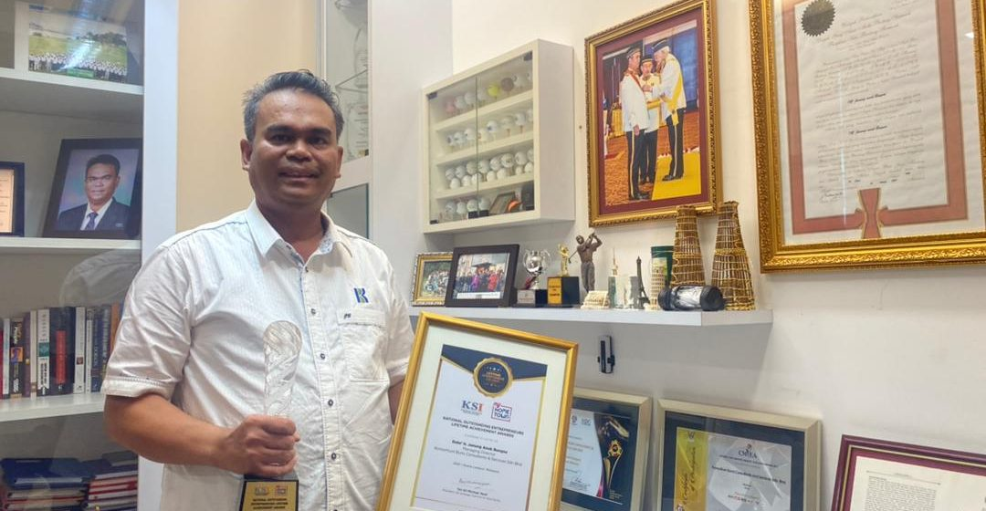 Janang temegah nyadi Top 50 Impact Lifetime Achievement Award