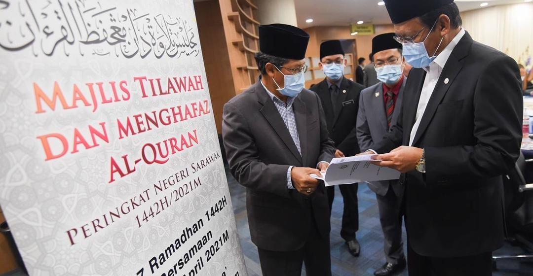 Majlis Tilawah dan Menghafaz Al-Quran Peringkat Negeri Sarawak diadakan 17 hingga 19 ini
